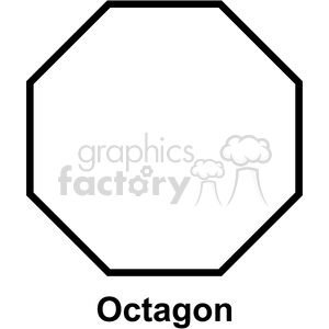 geometry octagon math clip art graphics images clipart. Royalty-free image # 392532