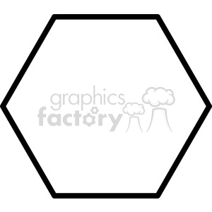lines frame swirls boutique sign design border hexagon clipart. Royalty-free image # 392572