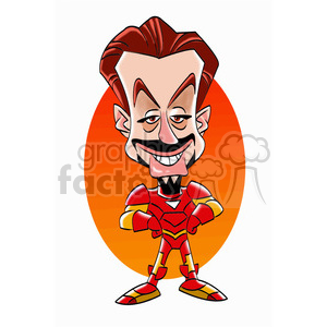 robert downey jr color clipart. Commercial use image # 393312
