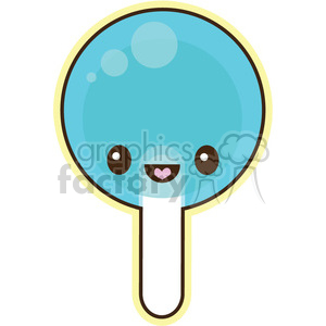 Lollipop character clipart. Royalty-free image # 393456