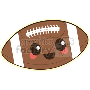 football cartoon character clipart. Royalty-free image # 393546