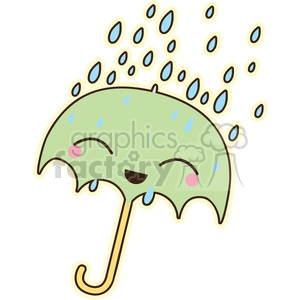 Umbrella vector clip art image clipart. Commercial use image # 393781