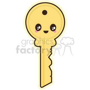 cartoon character characters funny cute key keys security privacy lock locked