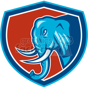elephant animal mascot logo elephants
