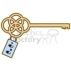 cute cartoon key keys house home
