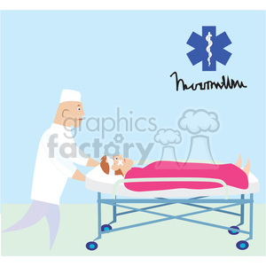 medical emergency clipart. Royalty-free image # 165759