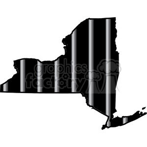 prison new york jail bars tattoo design clipart. Royalty-free image # 394804