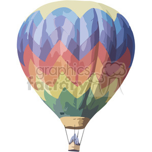 hot air balloon clipart. Royalty-free image # 394834