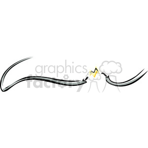 electrical wire clipart. Royalty-free image # 173724