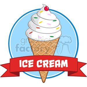 cartoon funny comical silly ice+cream ice+cream+cone vanilla