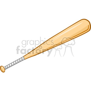Wooden Baseball Bat clipart. Royalty-free image # 396076