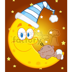 weather sky cartoon moon night stars