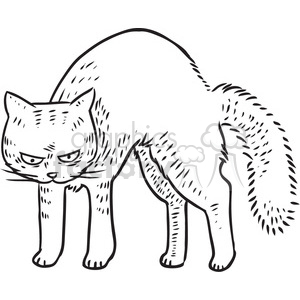 cat mean vector RF clip art images