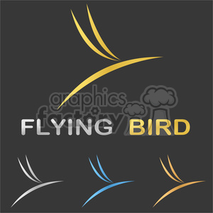 bird minimalistic minimal flying bird airways stylized fly bird logo corporate business concept vector sign line success symbol bird symbol template stylized bird graphic element shape abstract elegant bird icon bird abstract trend modern illustration icon wing airplane design bird flight company airline set fauna elegance aircraft fly logo silhouette nature logo flight identity soaring air metallic metal