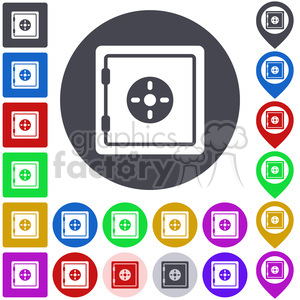 safe icon pack clipart. Commercial use image # 397271