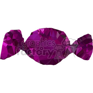 geometry polygons candy sweet sugar purple wrapper triangle+art