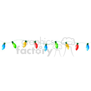Christmas lights geometry geometric polygon vector graphics RF clip art images