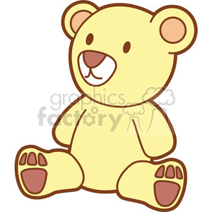 teddy bear cartoon clipart. Royalty-free icon # 397933