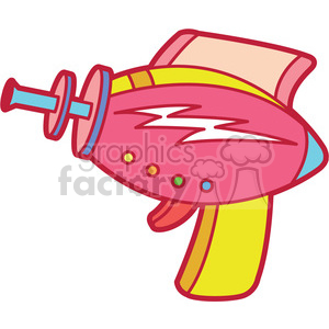 toy space gun clipart. Royalty-free image # 397943