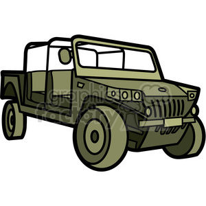 military armored tactical vehicle clipart. Royalty-free image # 397993