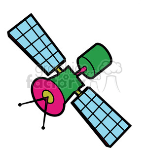satellite illustration graphic clipart. Royalty-free image # 398053