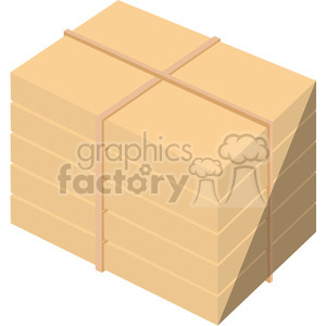 stack of shipping box containers clipart. Royalty-free image # 398263