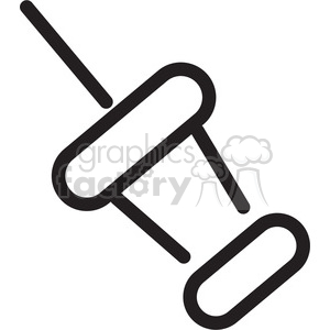 thumbtack icon clipart. Commercial use image # 398298