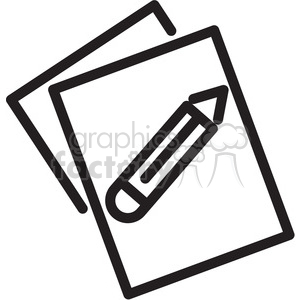 document icon clipart. Royalty-free image # 398328