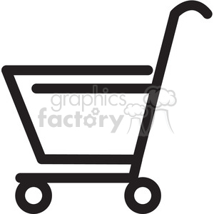 shopping cart empty icon clipart. Commercial use image # 398368