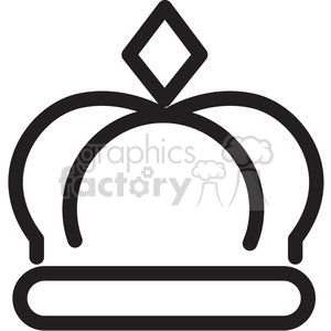crown icon clipart. Royalty-free image # 398378