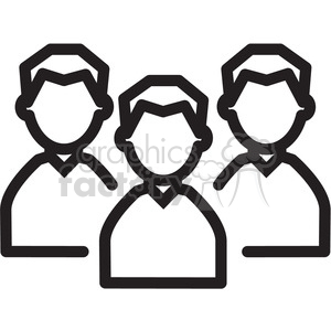 social media people icon clipart. Royalty-free image # 398398