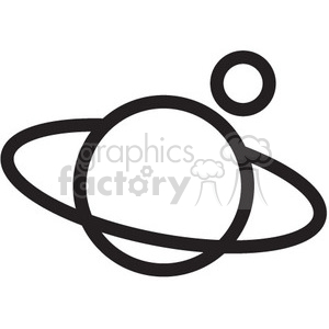 planet vector icon clipart. Royalty-free image # 398475