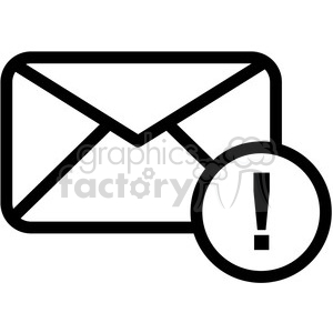 email information vector icon clipart. Commercial use image # 398834