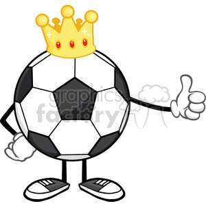 soccer cartoon character