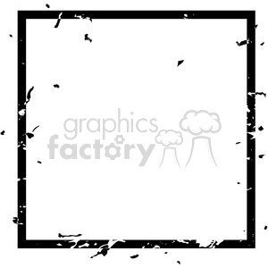grunge weathered distressed square vector art clipart. Royalty-free image # 400246
