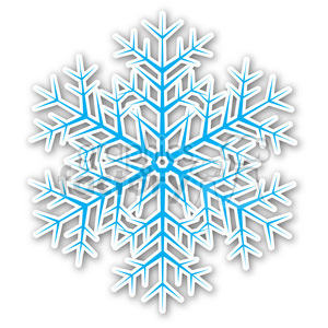 christmas snowflake v3 sticker clipart. Royalty-free image # 400436