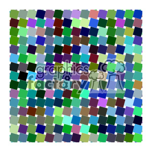 vector color pattern design 069 clipart. Royalty-free image # 401505