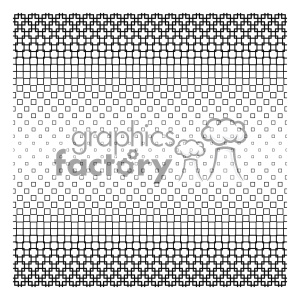 vector shape pattern design 668 clipart. Royalty-free image # 401560