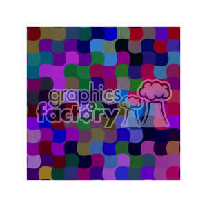 vector color pattern design 112 clipart. Royalty-free image # 401570