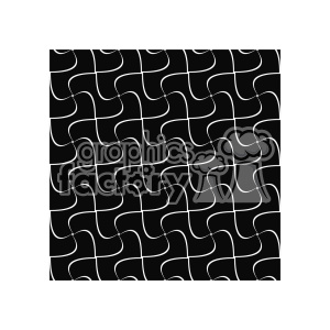 vector shape pattern design 876 clipart. Royalty-free image # 401610