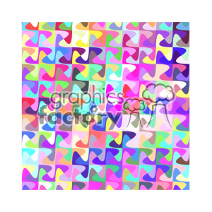 vector color pattern design 125 clipart. Royalty-free image # 401700