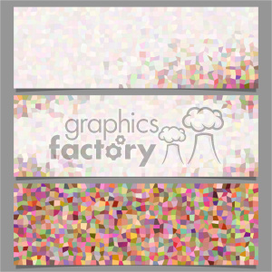 vector header banner template 022 clipart. Commercial use image # 402080