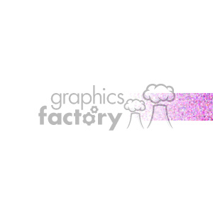vector pink small geometric end banner background