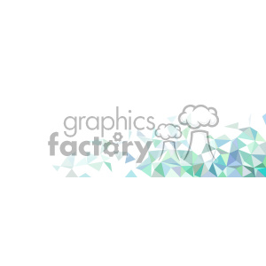 vector blue green faded geometric quarter background