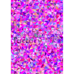 shades of pink polygon geometric vector brochure letterhead document background template