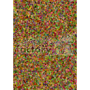 colorful polygon vector brochure letterhead document background template