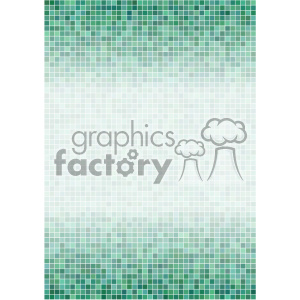 aqua ditigal pixel pattern vector top bottom background template clipart. Royalty-free image # 402140