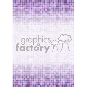 purple ditigal pixel pattern vector top bottom background template clipart. Royalty-free image # 402245