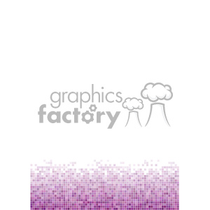 purple pixel pattern vector bottom background template clipart. Commercial use image # 402250