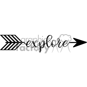 explore arrow svg cut file vector design
